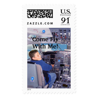 pilotperfectcopy, Come Fly With Me! Postage