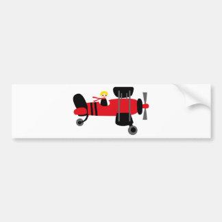 PilotRed4 Bumper Sticker