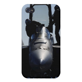 Pilots conducts a pre-flight inspection iPhone 4 cover