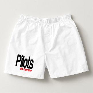Pilots Do It Better Boxers