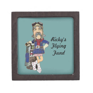 Pilot's Lessons Flying Fund - Keepsake Box