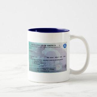 Pilots License Coffee Mug