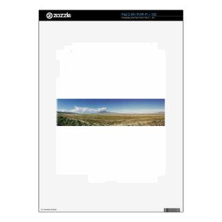 Pilot's Peak Panorama 1 Decal For iPad 2