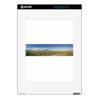 Pilot's Peak Panorama 1 Decals For iPad