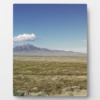 Pilot's Peak Panorama 1 Plaque