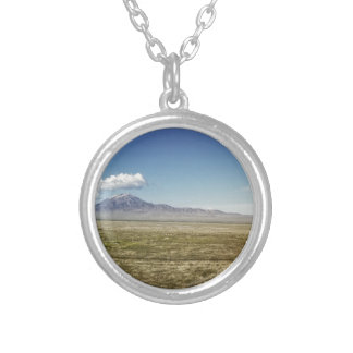 Pilot's Peak Panorama 1 Silver Plated Necklace