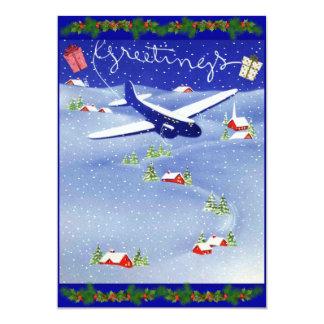 Pilot's Photo Christmas Holiday Card Set