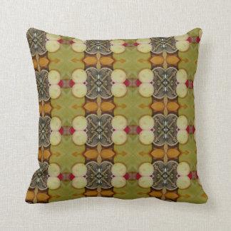 Pilow modelado verde terroso almohada