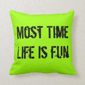 Pilow. Most Time Throw Pillow