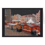 Pilsen - Christmas Market Lights Card
