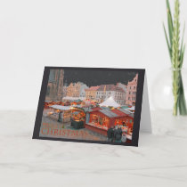 Pilsen - Christmas Market Lights Holiday Card