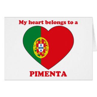 Pimenta Card