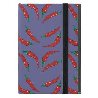 pimenta, pepper pattern iPad mini cases
