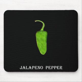 Pimienta 1 .jpg del Jalapeno de Tejas Alfombrilla De Raton