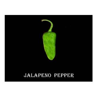Pimienta 1 .jpg del Jalapeno de Tejas Tarjetas Postales