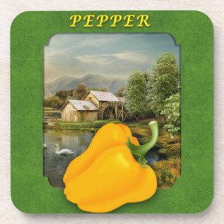 Pimienta amarilla en el práctico de costa del pais posavaso