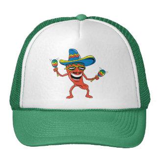 Pimienta de chile mexicana gorro