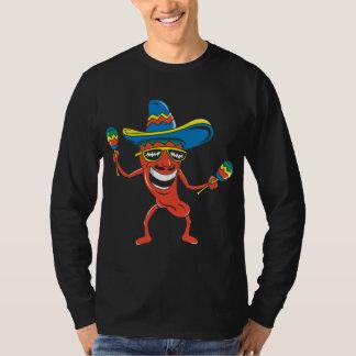Pimienta de chile mexicana playera