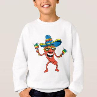 Pimienta de chile mexicana remeras