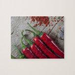 Pimienta de chile rojo puzzles con fotos
