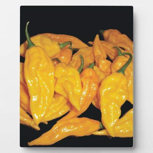 Pimienta de chiles caliente de Fatalii Placa
