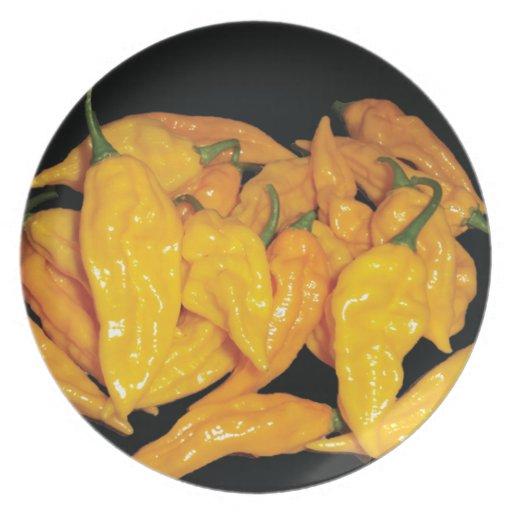 Pimienta de chiles caliente de Fatalii Platos Para Fiestas