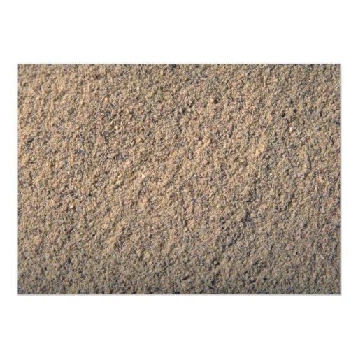 Pimienta de tierra blanca invitación 12,7 x 17,8 cm