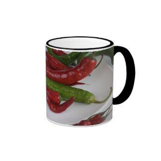 pimienta green&red tazas
