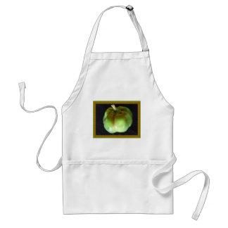 Pimienta verde orgánica delantal