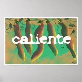 Pimientas calientes del Jalapeno de Caliente Impresiones