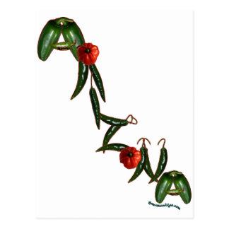 Pimientas de chile de Arizona Tarjetas Postales
