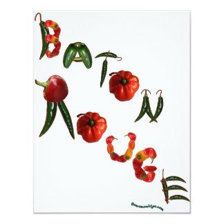 Pimientas de chile de Baton Rouge Anuncios Personalizados