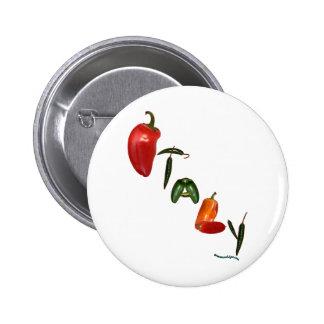 Pimientas de chile de Italia Pins