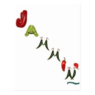 Pimientas de chile de Jammin Postales
