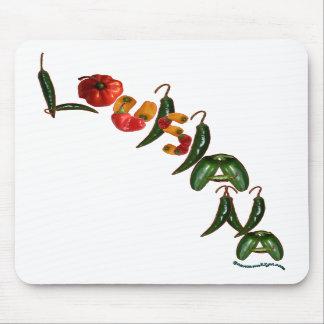 Pimientas de chile de Luisiana Tapetes De Raton