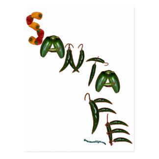 Pimientas de chile de Santa Fe Postales
