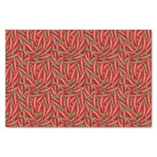 Pimientas de chile papel de seda pequeño