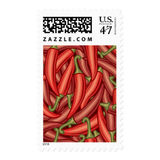 Pimientas de chile sellos