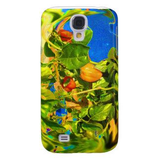 Pimientas del habanero en la foto Trippy de la pla Funda Para Galaxy S4