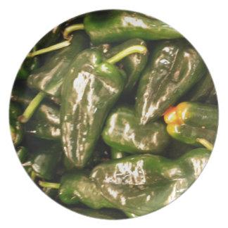 Pimientas secadas del Jalapeno