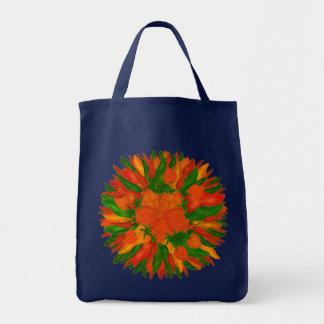 Pimientas soleadas bolsa tela para la compra