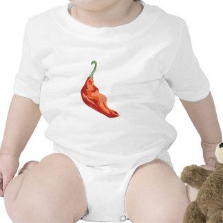Pimiento picante trajes de bebé