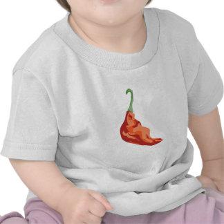 Pimiento picante camisetas