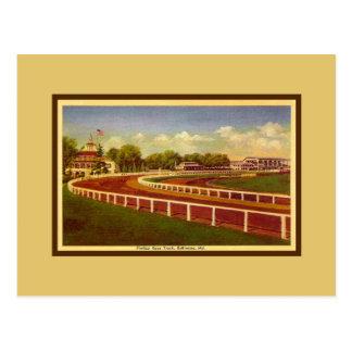 Pimlico Race Track, Baltimore Maryland Postcard