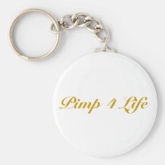 Pimp 4 Life Keychain
