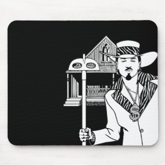 Pimp and Hoe Mouse Pad