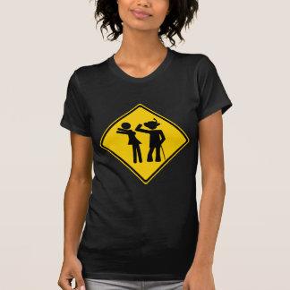 Pimp Backhand Road Sign T Shirts