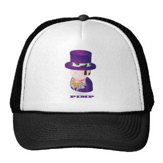 Pimp character hats