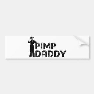 Pimp Daddy Bumper Sticker