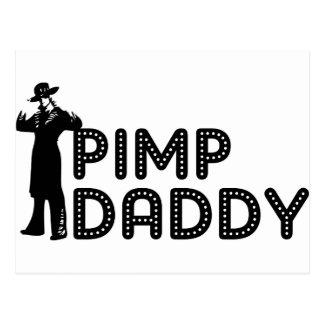 Pimp Daddy Postcard